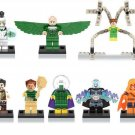 Marvel The Amazing Spider-Man minifigures Dr.Octopus,Electro,Lord Voldemort Lego Compatible Toys