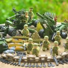 American Soldiers Minifigures Lego Compatible, World War 2 Army