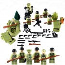 Military swat American Soldiers Minifigure Lego Compatible Toys, World War 2 Army