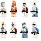 Clone Trooper Minifigures Lego Compatible Star Wars Sets