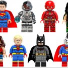 Justice League Batman,Superman,Wonder Woman Minifigures Lego Compatible Toys,Marvel Superhero Sets