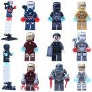 Iron Man series minifigures Lego Compatible Toy,Marvel Superhero