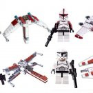 Star Wars Set Clone Trooper Lego Minifigures Compatible Toy