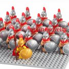 The 300 Spartans Warriors Soldier Lego minifigures Compatible Toys