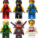 Ninjago Movie Series Minifigures  Lego Compatible Toy