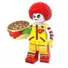 Halloween minifigures Mutation McDonald's clown Lego Compatible Toy