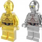 Star Wars set gilt C-3PO Minifigures Lego Compatible Toy