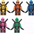 Deadpool Minifigures Lego Compatible Toy Marvel sets