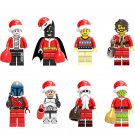 Christmas minifigures Lego Compatible Toy,Superhero Christmas minifigure