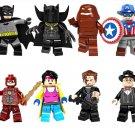 Batman Flash Clayface minifigures DC Superhero Lego Compatible Toy