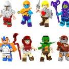 He-Man Masters sets Lego Compatible Toy,He-Man Ram man Ske Letor minifigures