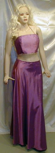HOT New  Alfred Angelo Formal 2 PC. HOT Halter Prom  Sz 10  #506