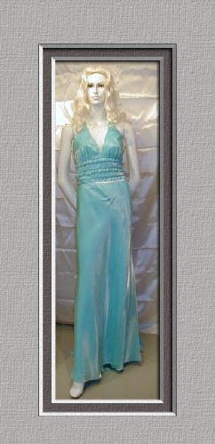 534 Lovely New FAVIANA Formal Dance Cruise Cute Halter Set 9 10