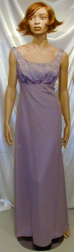 Alfred Angelo Formal Gown Bridesmaid Cruise Prom Sz. 11-12  #502