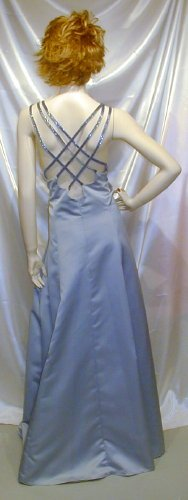 Beautiful New Precious Formals Gown Prom Cruise Beading NEW NR Sz 26 #621