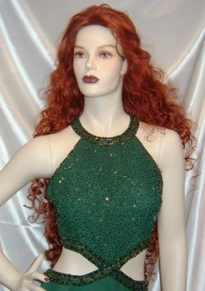 HOt New Cire Beaded Gown SeXy Prom Cocktail Party  Sz12 #006
