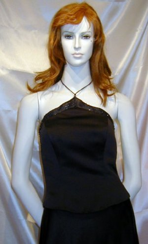 Mori Lee Halter Formal Prom Bridesmaid Cruise NEW 9 - 10 #512
