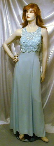 620 Gorgeous Sky Blue Alyce Design Gown Beads Prom Cruise14