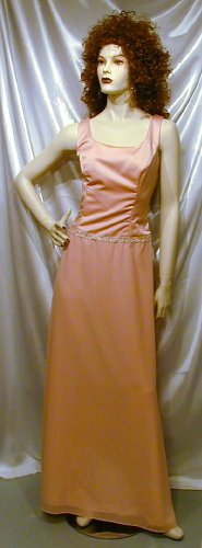 632 Lovely New Alfred Angelo Mother Of The Bride Formal Gown Bridesmaid Cruise  14