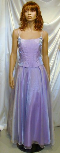 611 Hot NEW Faviana Formal Gown Bustier Prom Cruise Sz 14