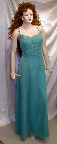 548 New Precious Formals Gown Cruise Prom Delicate Sz 16W
