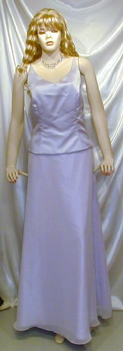Beautiful Formal Prom Bridesmaid Gown Cruise Theatre Lilac Sz.12 #742