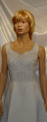 Gorgeous New Alyce Design MOB Cruise Wedding Gown Formal Theatre  Sz 12 #662