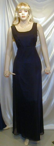 Lovely Formal Bridesmaid Gown Cruise Navy Theatre  12 #812