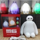 New Color Changing Big Hero 6 Baymax USB LED Table Desk Lamp Light Night Light