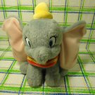 Disney Store Dumbo Yellow Hat  Plush Stuffed Toy Animal Doll 7""