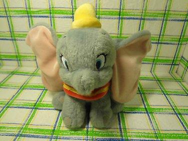 "Disney Store Dumbo Yellow Hat  Plush Stuffed Toy Animal Doll 7"""