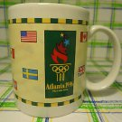 1996 Atlanta Olympics Mug Ceramic Coffee Tea Cup 8 Oz