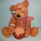 DanDee Honey Bear 100 Anniversary Collectors Edition Plush Stuffed Animal 2003