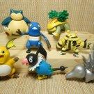 Jakkes Pokemon Action Figures 2010 2008 2007 Lot 7