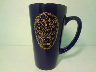 Police Officer Largo Florida Ceramic Coffee Mug 14 Oz