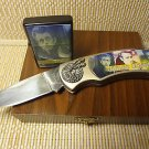 Collectible James Dean Pocket Knife Cigarette Lighter Collector Box Set