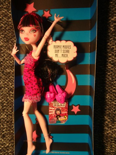 Monster High Draculaura Dead Tired Mint Complete New Box