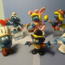 VINTAGE TOY SMURFS FIGURES HOLIDAY PEYO SCHELICH