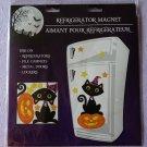 Halloween Black Cat Decor Decoration Magnetic Fridge Car Locker File Cabinet