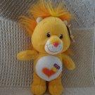 2003 Care Bears Cousin Brave Heart Lion Collectors Edition Series 2 Plush WT