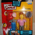 The Simpsons World Of Springfield Interactive Figure Series 12 FREDDY QUIMBY New
