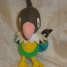 "Pokemon CHATOT Nintendo Plush Stuffed Animal 2007 Jakks Pacific 7""  DOLL TOY"