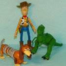 Disney Toy Story Thinkway PVC Toy Figures Lot 3