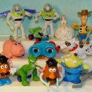 Disney Toy Story Burger King PVC Toy Figures Lot 12