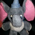 "Vintage Walt Disney's Disneyland Stuffed Plush Dumbo Toy Animal 16"""