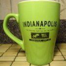 Indianapolis Racing Capital Coffee Mug Latte Tea Ceramic Cup Limited Edition