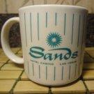 Sands Casino Mug Las Vegas Hotel Coffee Ceramic Tea Cup Vintage