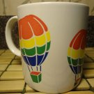 FTD Rainbow Coffee Mug Tea Cup Ceramic