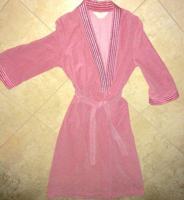 Vintage Komar Womens Robe Pink