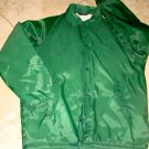 Vintage Green Men s Nylon Jacket Coat Wool Lined JC Penny Size M